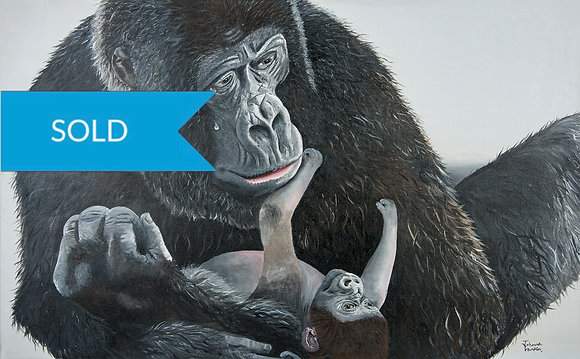 SOLD - Gorilla & Bab