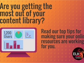 How to know if your online content library is working for you