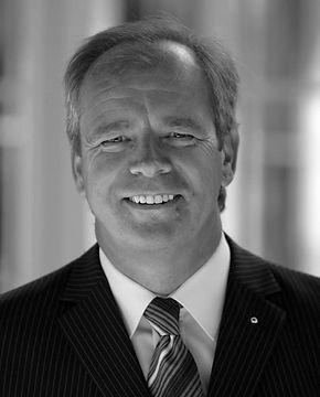 Vorstandsvorsitzender Klaus Volkert AFC Tauberfranken Wolfpack