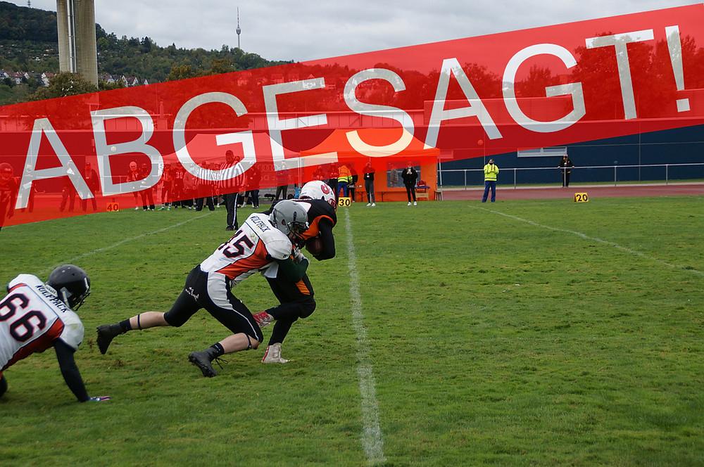 Heimspiel der Tauberfranken Wolfpack Jugend U19 kurzfristig abgesagt!