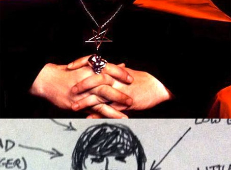 Dangerous Minds on Anton LaVey Drawings