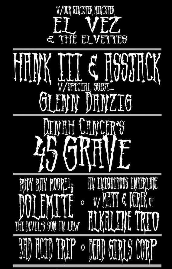 Stanton LaVey Hank III Danzig 45 Grave