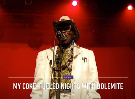 MY COKE-FUELED NIGHTS WITH DOLEMITE