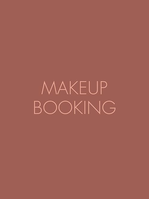 Makeup Booking