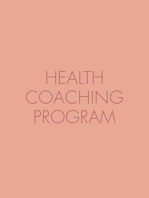 Health Coaching Program