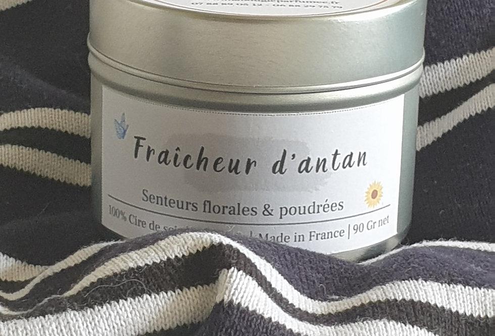 """BOUGIE PARFUMEE """"FRAICHEUR D'ANTAN"""""""