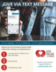 St. Kieran Church 2020 Text to Give Mini