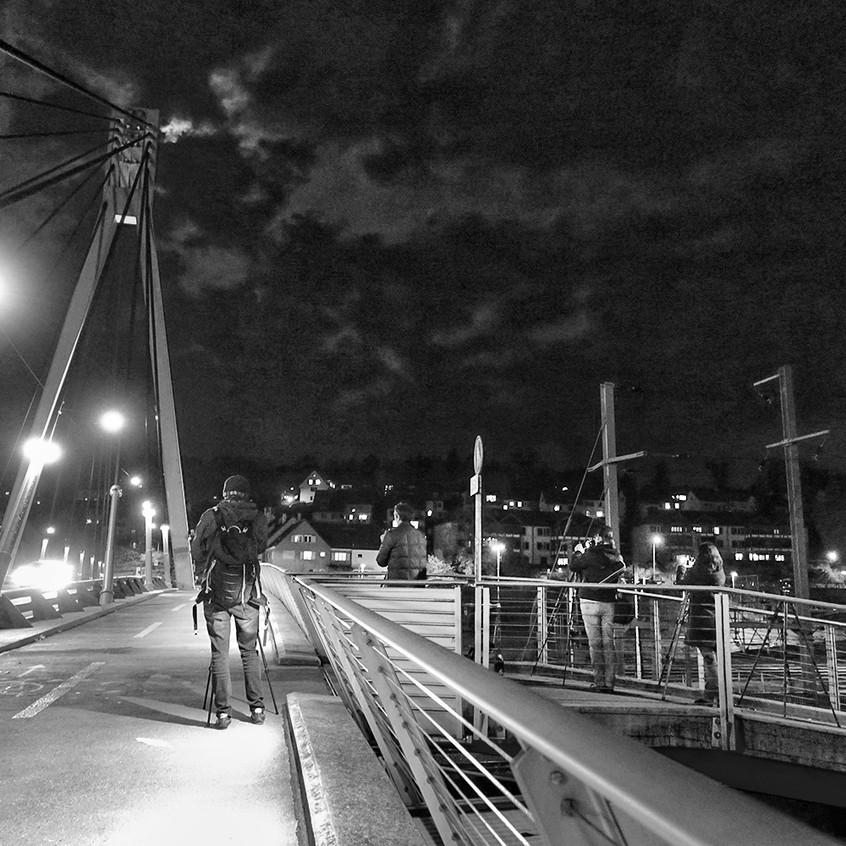 Auf der Storchenbrücke