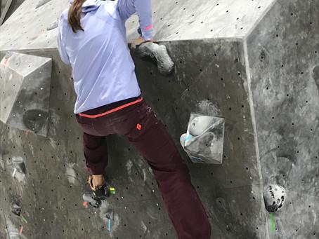Klettern wie im Freien - ein Rückblick