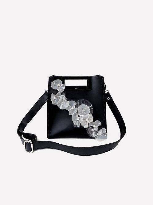 Hollow Mini Bag Children of The Sea Limited Edition in Black/Pearl White