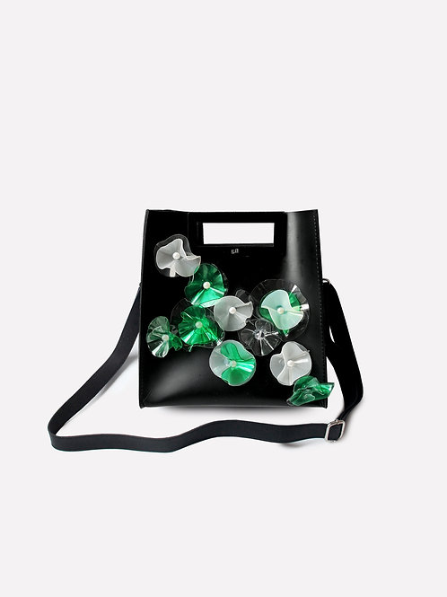 Hollow Mini Bag Children of The Sea Limited Edition in Black/Emerald