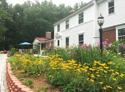 Tallwood House front garden