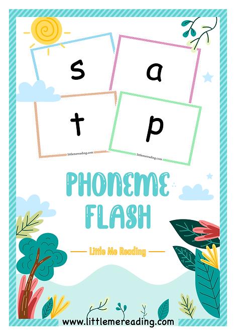 Free Phonics Phoneme Grapheme Flashcards with Teaching Sequence