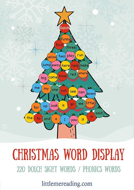 https://www.teacherspayteachers.com/Product/Christmas-Tree-Holiday-Dolch-Sight-W