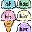 Thumbnail: Dolch Sight Word Ice Cream Review Record Cutout Activity (1st Grade)