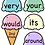 Thumbnail: Dolch Sight Word Ice Cream Review Record Cutout Activity (Value Bundle)