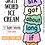 Thumbnail: Dolch Sight Word Ice Cream Review Record Cutout Activity (3rd Grade)