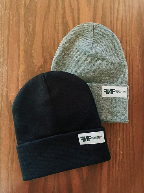 On Your Mind Beenie in Black or Grey