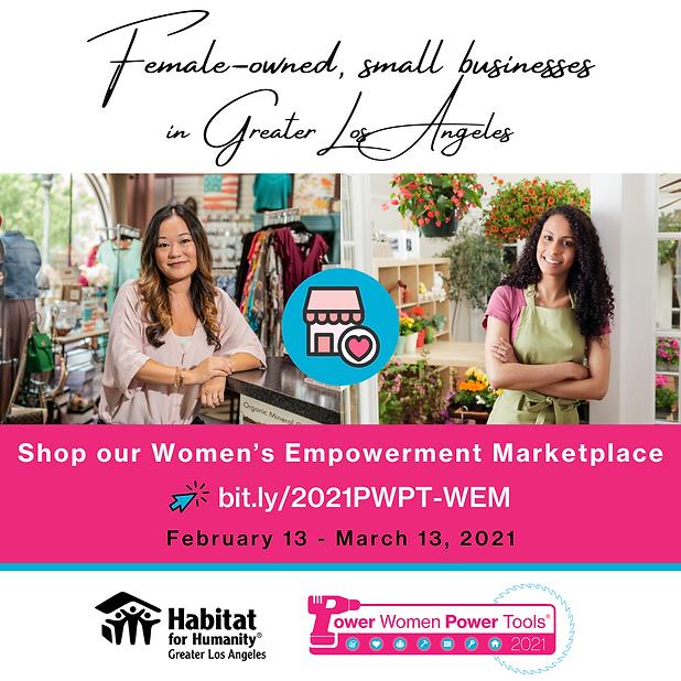 2021 PWPT  - Shop our Women's Empowermen