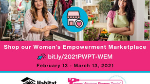 NFF joins Habitat for Humanity in a Women's Empowerment Marketplace.