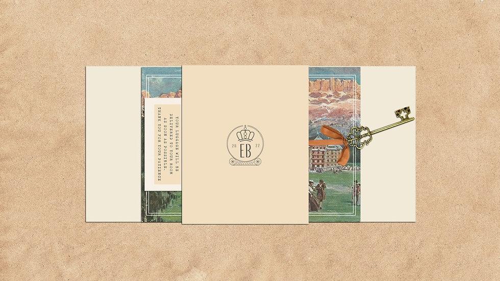 Wes Anderson Wedding Invitations