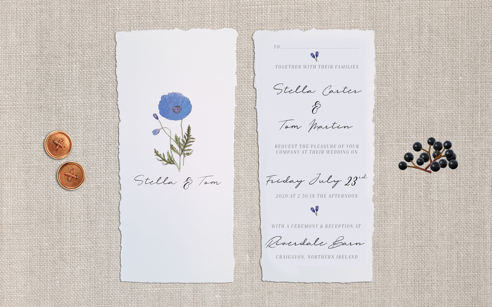FEATURED WEDDING INVITATION: FRENCH LINEN