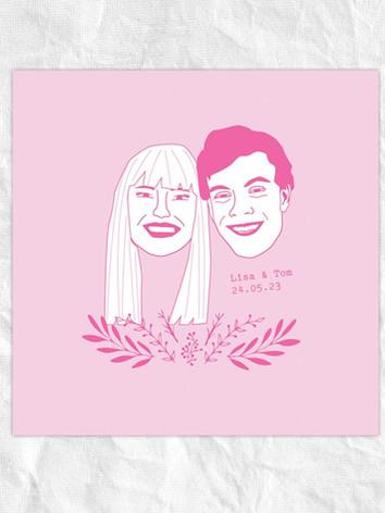 LISA & TOM CUSTOM ORDER