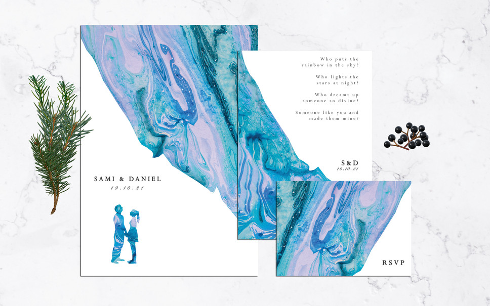 FEATURED WEDDING INVITATION: DREAMING OF YOU