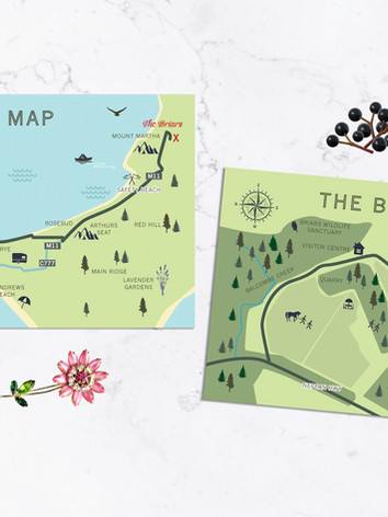 Bespoke Wedding Maps