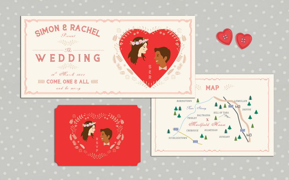 FEATURED WEDDING INVITATION: FAIRGROUND ENCHANTMENT