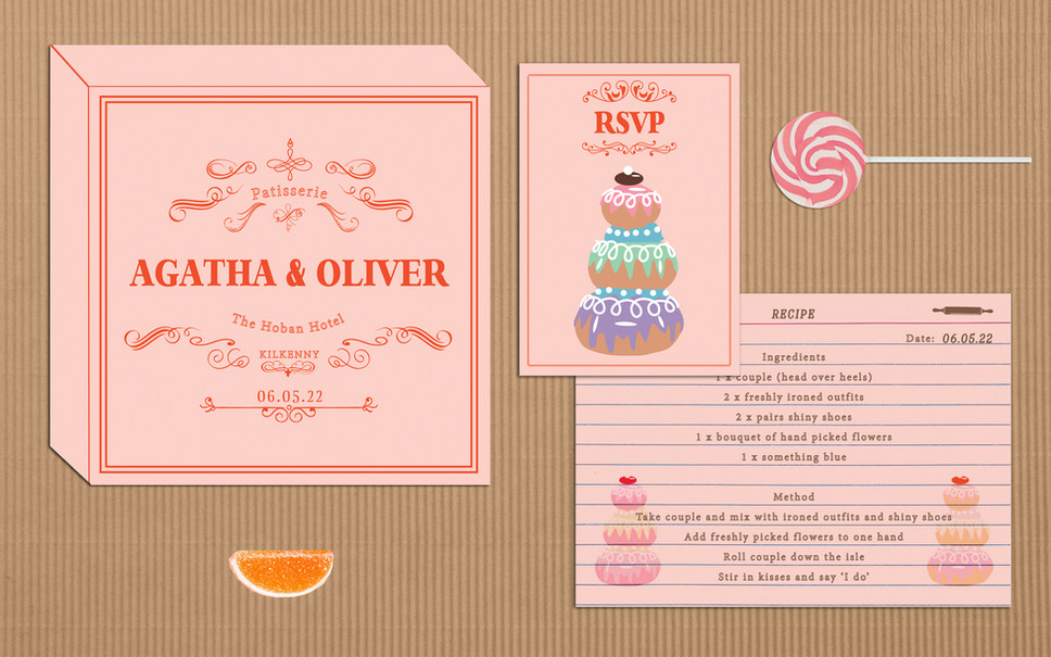 FEATURED WEDDING INVITATION: COURTESAN AU CHOCOLAT