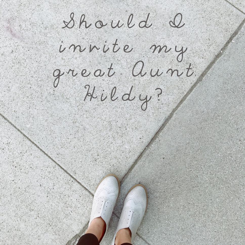 WEDDING GUESTLIST GUIDE
