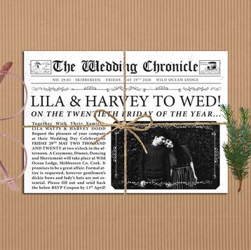 WEDDING CHRONICLE