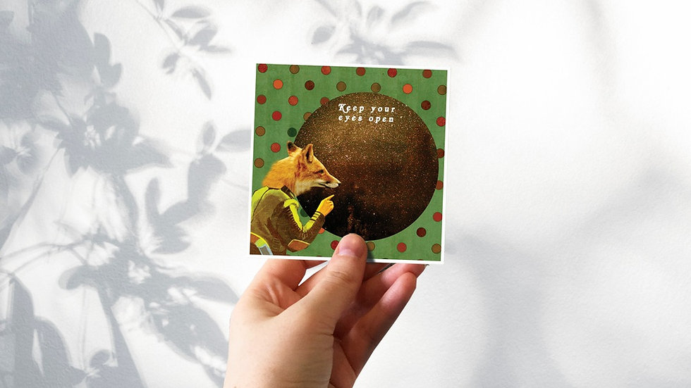 Green Fox Mini Print Collection