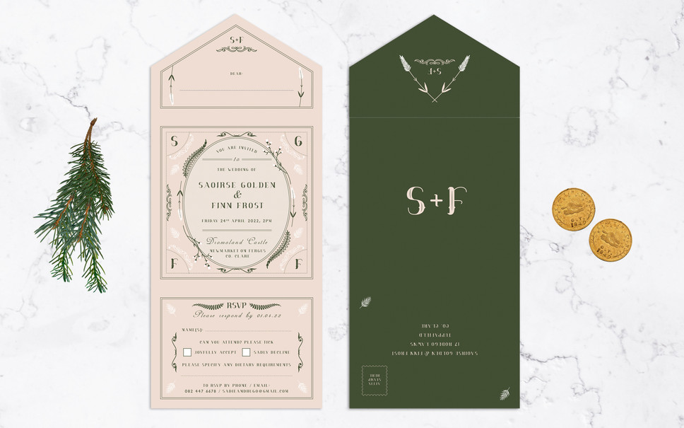 FEATURED WEDDING INVITATION: APOTHECARY