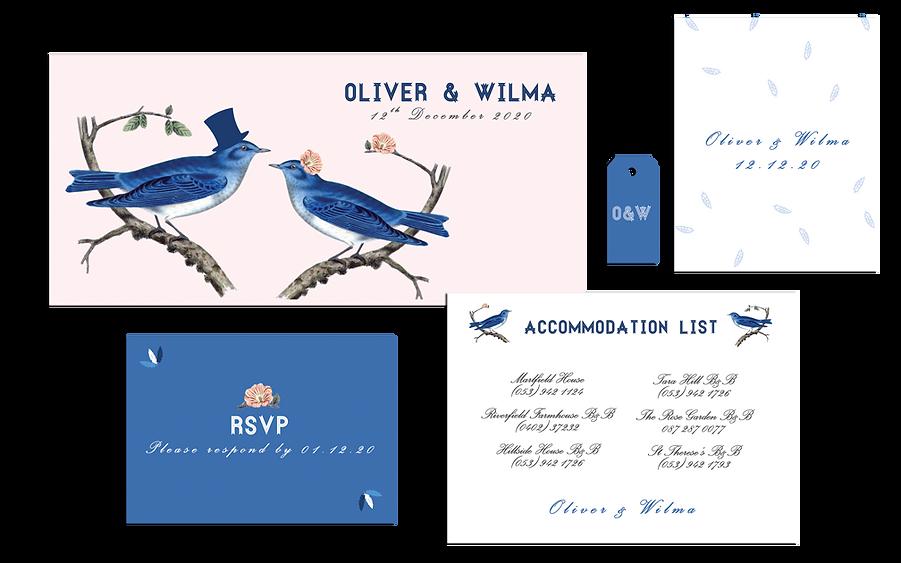 Blue Jay Way Wedding Invitation Alone.pn