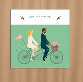 A BICYCLE MADE FOR TWO