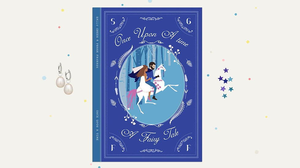 Book themed wedding invitations
