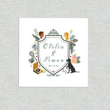 WEDDING CRESTS