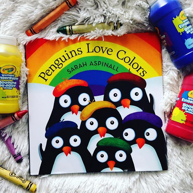 'Penguins Love Colors' by Sarah Aspinall
