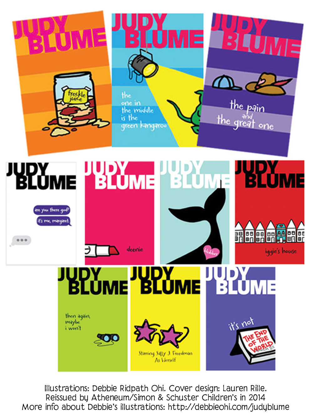 Judy Blume Covers