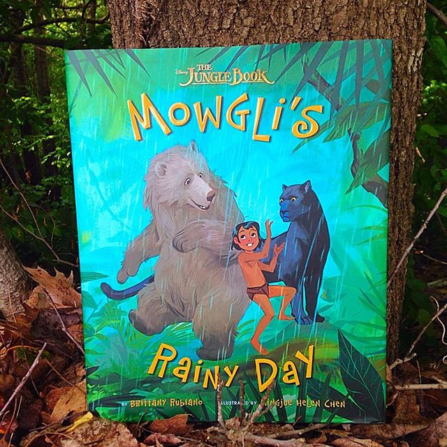 'Mowgli's Rainy Day' by Brittany Rubiano and Mingjue Helen Chen