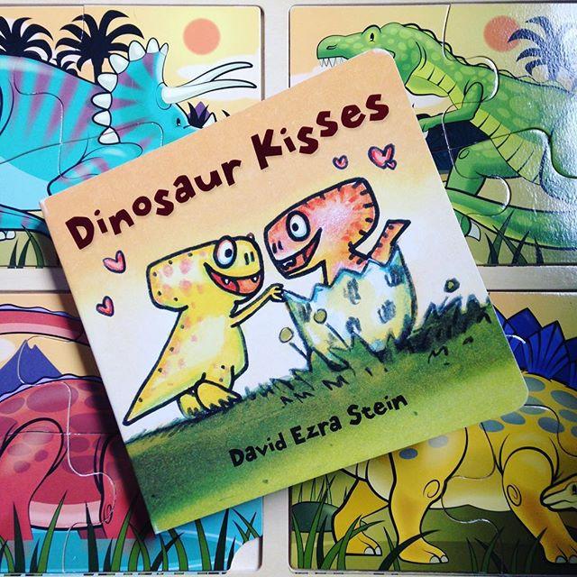 """Dinosaur Kisses"" by David Ezra Stein"