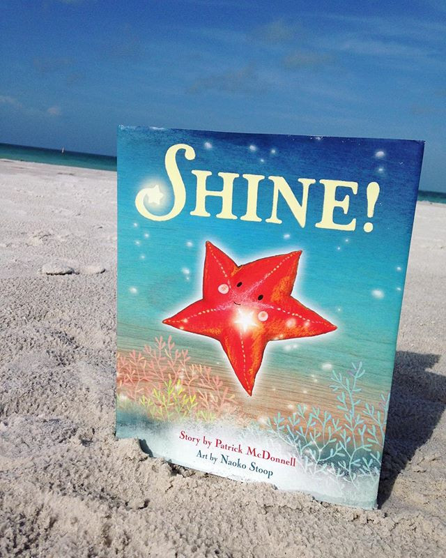 Review of 'Shine' by Patrick McDonnell and Naoko Stoop
