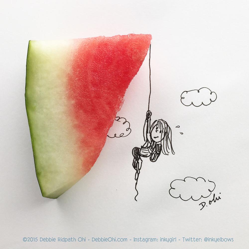 Watermelon Climber
