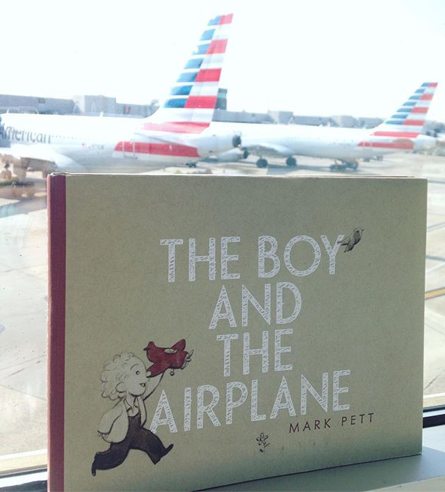 The Boy and the Airplane by Mark Pett