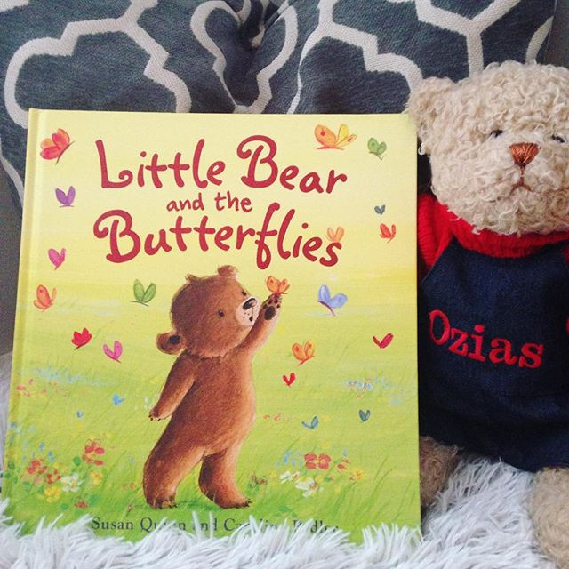 'Little Bear and the Butterflies' by Susan Quinn and Caroline Pedler