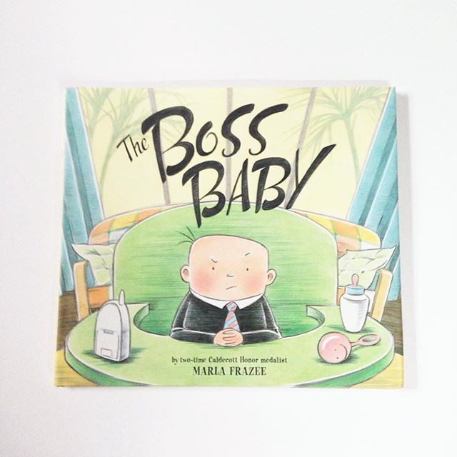 'The Boss Baby' by Marla Frazee