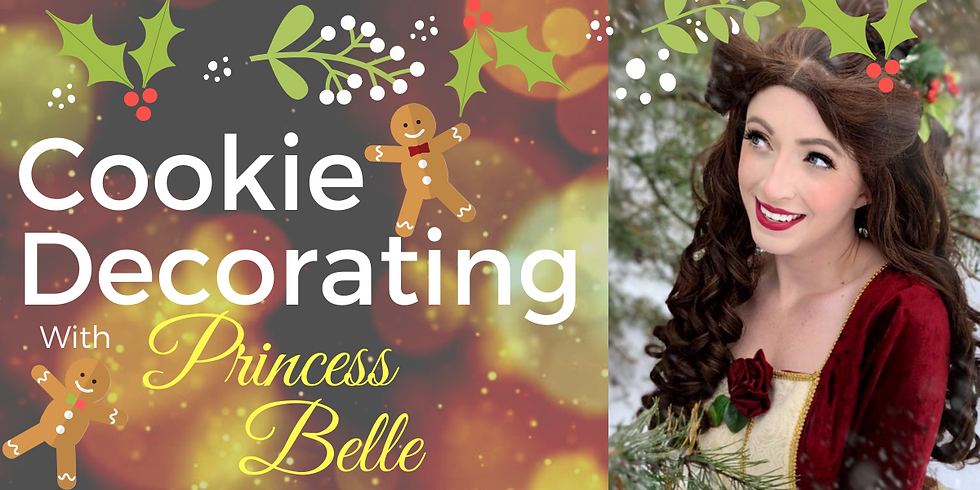 Cookie Decorating with Belle