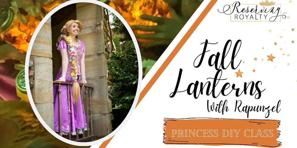 Fall Lanterns with Rapunzel | Princess DIY Class